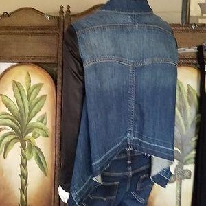 Bcbgmaxazria  jean jacket